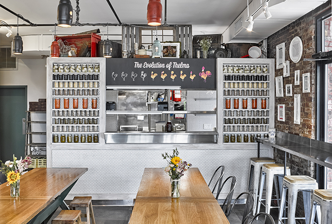 Carla Hall\'s Southern Kitchen | AvroKo | A Design and Concept Firm