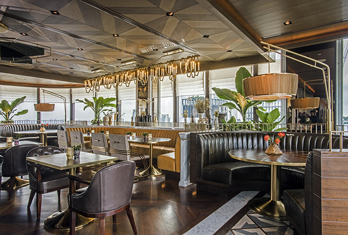 Penthouse Bar & Grill | AvroKo | A Design and Concept Firm